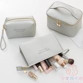 化妝包便攜防水大容量收納包化妝品盒箱手提袋洗漱包【少女顏究院】