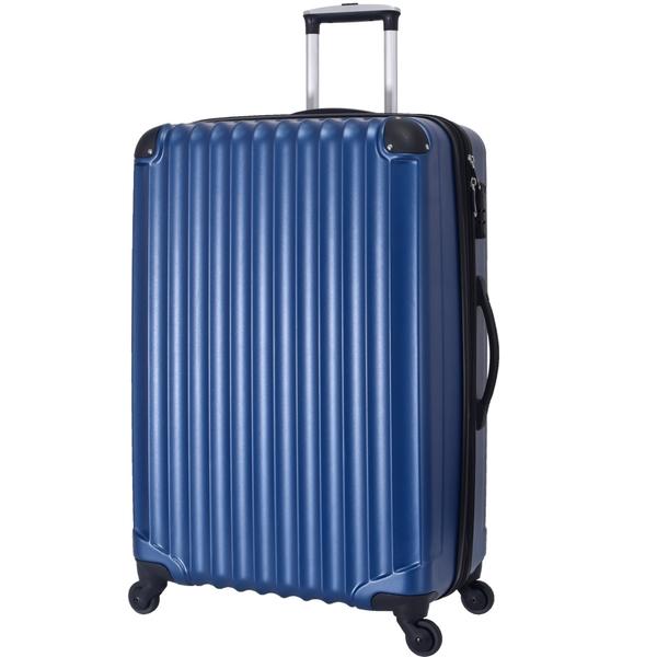 ~雪黛屋~LEAD 28吋行李箱可加大容量固定固定海密鎖硬殼360度旋轉耐摔耐磨損檢測通過箱體S2512