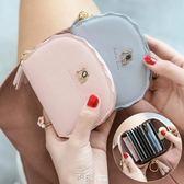 米印小狗卡包女小巧可愛簡約超薄多卡位大容量信用卡包零錢包一體【道禾生活館】
