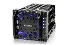 "[nova成功3C] ICY DOCK Black Vortex MB074SP-1B 3.5"" SATA硬碟 四轉三 熱插拔酷冷硬碟抽取盒"