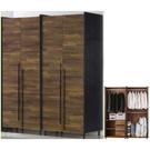 衣櫃 衣櫥 SB-528-12 畢卡索5.2尺雙色衣櫃 【大眾家居舘】
