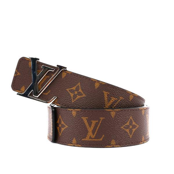 【LV】Monogram Logo雙面INITIALES 皮帶90cm M9821U