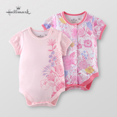 Hallmark Babies 女嬰竹系列繽紛花卉包屁衣(兩件裝) HG1-F71-06-BG-MR