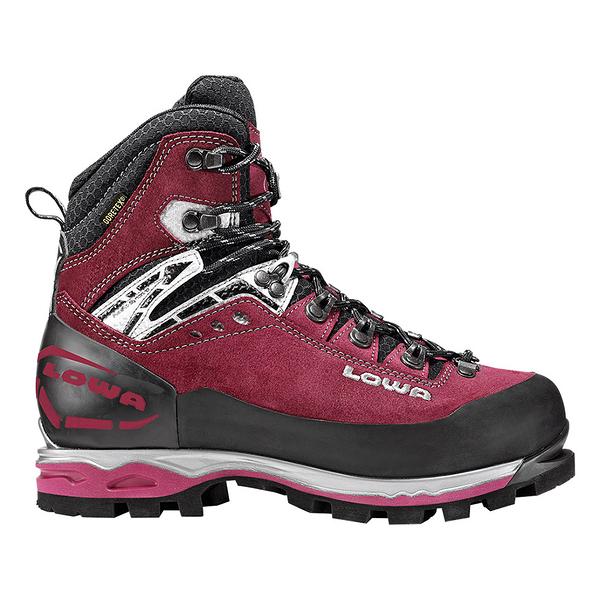 Lowa Mt Expert Gore-Tex Evo WS 女款冰雪攀登硬底鞋 莓果紫