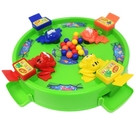 4隻 青蛙搶珠盤 青蛙搶豆豆遊戲盤 389/一個入(促299) 青蛙撲球 親子桌遊 益智玩具-CF102959