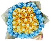 娃娃屋樂園~60朵玫瑰香皂花(花朵款)-分享花束 每束1880元/第二次進場/情人節花束