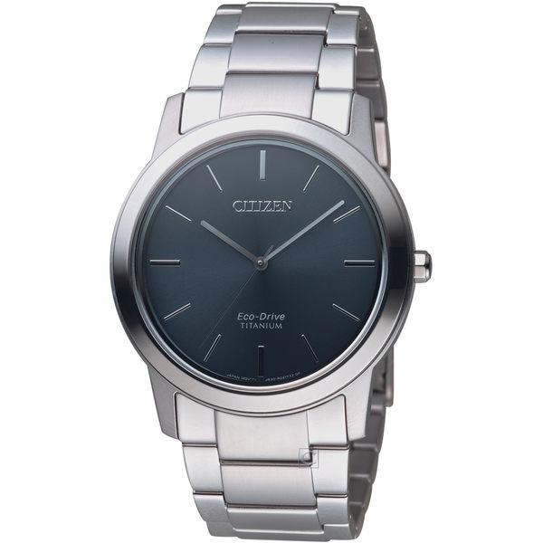 星辰 CITIZEN GENT''S簡約時尚鈦金屬腕錶  AW2020-82L