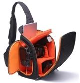 店長推薦 相機包卡登新款單反相機包斜跨攝影包單肩多功能防水包數碼防盜簡約