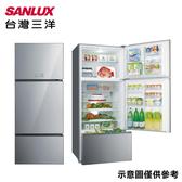 留言加碼折扣享【SANLUX 台灣三洋】528L變頻三門采晶玻璃電冰箱SR-C528CVG