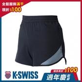 K-SWISS Woven Shorts 1運動短褲-女-黑