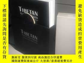 二手書博民逛書店Tibetan罕見rich color paints: A Collection of Ten Artists T