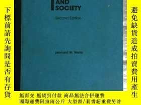 二手書博民逛書店ECONOMICS罕見AND SOCIETY (Second E