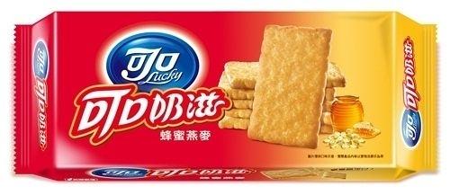 可口奶滋-蜂蜜燕麥137.5g(2包/組)【合迷雅好物超級商城】