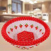 手工串珠果盤材料包diy編織水果工藝飾品葡萄擺件製作散珠子 英雄聯盟