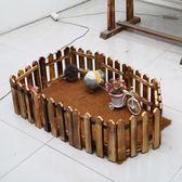 陸龜箱爬蟲箱散養柵欄刺猬圍欄蜥蜴護欄飼養箱造景 igo