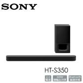 【限時下殺+24期0利率】SONY 2.1聲道家庭劇院組 HT-S350  soundbar 音響 喇叭 (加購價)
