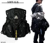後背包 AIRWALK後背包 三叉扣後背包 登山背包 電腦包 筆電包 AB71050