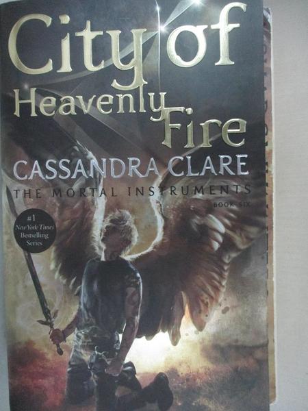 【書寶二手書T1/原文小說_BA5】City of Heavenly Fire_Clare, Cassandra