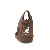 KANGOL 側背包 肩背包 咖啡色 6925300702 noA26
