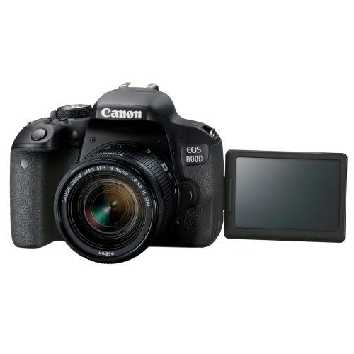 特惠下殺 24期零利率 Canon EOS 800D 18-55mm 單鏡KIT 總代理公司貨 登錄送好禮