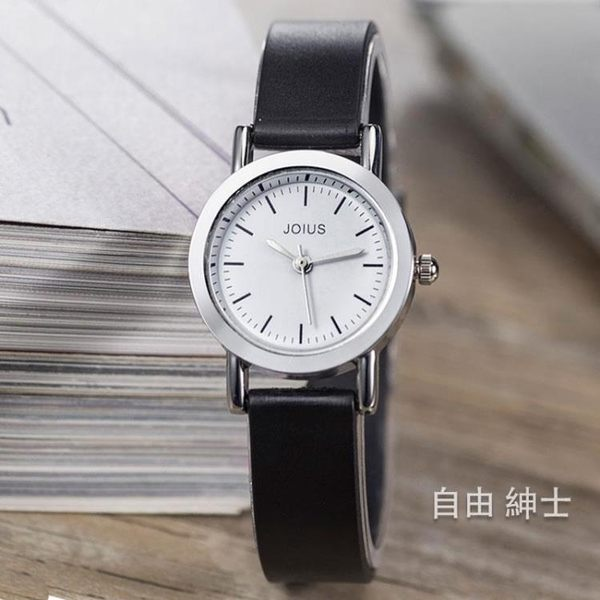 男女兒童手錶女學生簡約休閒石英錶正韓潮流時尚果凍女錶女士腕錶 交換禮物