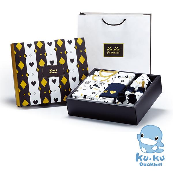 KUKU酷咕鴨純真之瞳包巾豪華禮盒-16件組