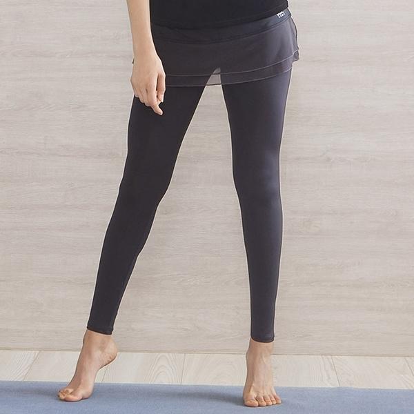 *╮寶琦華Bourdance╭*專業瑜珈韻律芭蕾★假兩件式裙褲【Y19383】