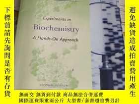二手書博民逛書店Experiments罕見in Biochemistry: A
