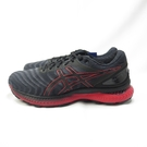 ASICS GEL-NIMBUS 22代 男款 慢跑鞋 1011A680003 黑紅【iSport愛運動】