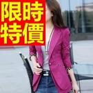 韓版西裝外套-非凡俏麗獨一無二休閒女外套6色54a11【巴黎精品】