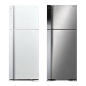 日立 HITACHI一級節能 460公升變頻雙門冰箱/2色 RV469