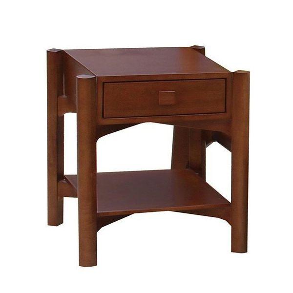 【新北大】✪ G090-2 馬庫斯1.65尺淺胡桃床頭櫃-18購