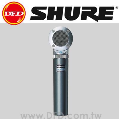 美國 舒爾 SHURE BETA 181/BI 側向拾音電容麥克風 公司貨 適合上方高帽鈸,原聲吉他,合唱組