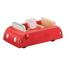 《 Peppa Pig 》粉紅豬小妹- 小紅車(木製) / JOYBUS玩具百貨