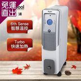 Whirlpool惠而浦 11片葉片電子式電暖器WORE11W【免運直出】