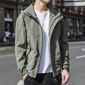 男士外套春秋工裝2020新款秋冬季韓版潮流百搭衣服上衣秋裝男夾克