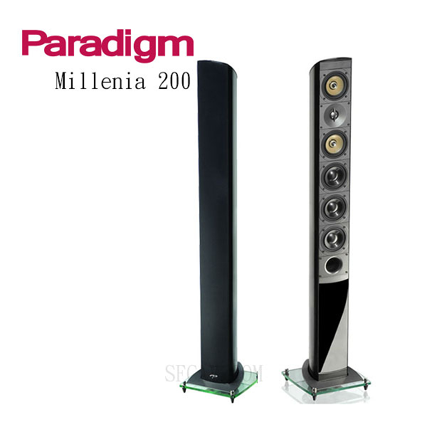 【新竹勝豐群音響】Paradigm Millenia 200 落地型喇叭