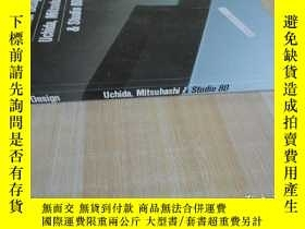 二手書博民逛書店16開厚冊罕見《Interior Design Uchida.M