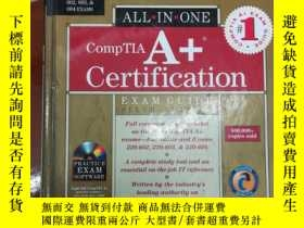 二手書博民逛書店COMPTIA罕見A+ Certification EXAM G