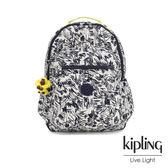 Kipling 鉛筆塗鴉機能手提後背包-SEOUL GO