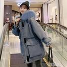 棉襖港風羽絨棉衣學生韓版寬鬆冬季工裝外套棉服女潮快速出貨