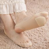 船襪女夏季超淺口高跟鞋不掉跟吊帶襪隱形硅膠防滑單鞋短冰絲襪子【週年慶免運八折】