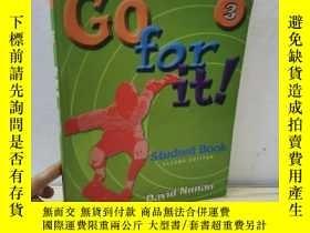 二手書博民逛書店go罕見for it student book 3Y434322 如圖 如圖