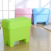 可坐人收納凳收納椅坐凳換鞋凳儲物凳儲物椅玩具收納箱wy