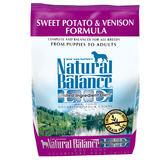 【寵物王國】Natural Balance-NB低敏無穀地瓜鹿肉全犬配方26磅