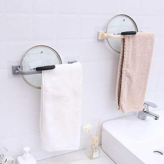 掛架 收納架 置物架 掛勾 掛鈎 廚房 浴室 強力黏膠 無痕 免打孔 無痕毛巾架 【M003】MY COLOR
