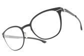 Ic! Berlin光學眼鏡 LEONA R. MARAUDER (霧灰-粉) 德國薄鋼休閒百搭款 # 金橘眼鏡