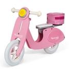 【法國Janod】平衡滑步系列-粉紅淑女摩托車 J03239  /台