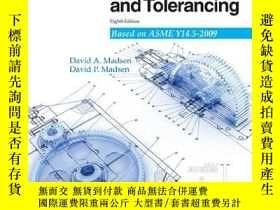 二手書博民逛書店Geometric罕見Dimensioning And TolerancingY364682 David A.