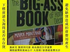 二手書博民逛書店家庭室內空間生活創新手工創意罕見The Big-Ass Book
